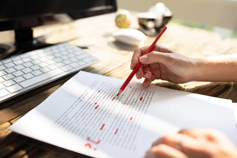 Исправление документа
