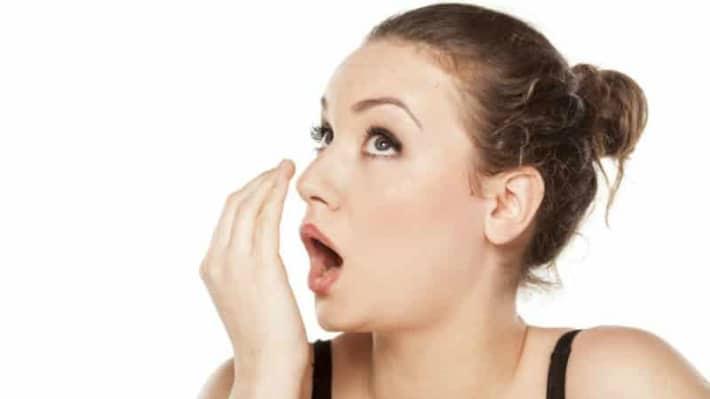 Определить есть ли запах изо рта