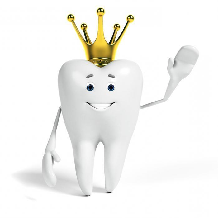 Корона на зубе