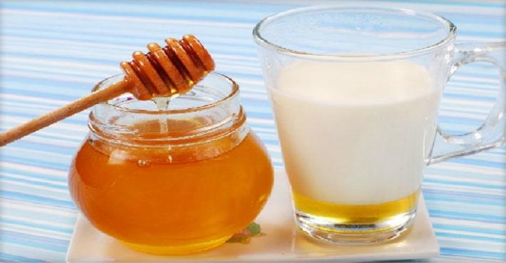 Молоко с медом на ночь при бруксизме