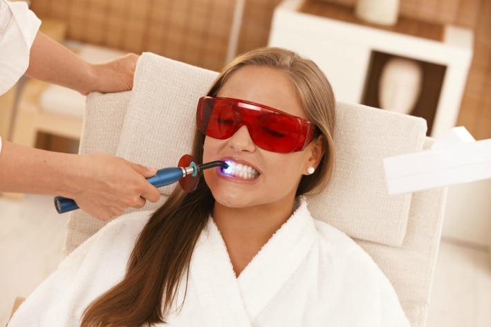 Использование защитных очков в стоматологии
