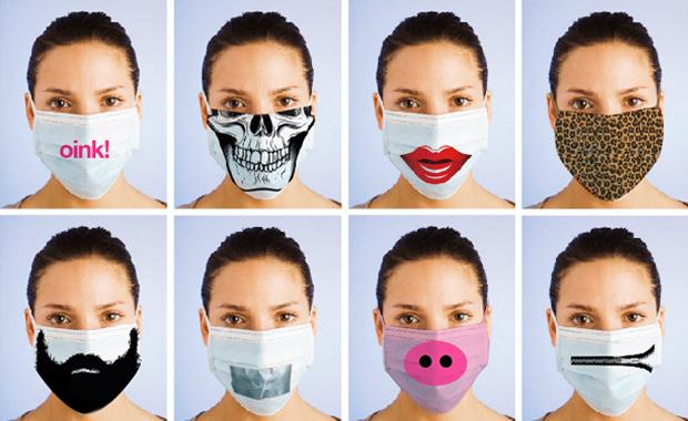 Оригинальные маски стоматологов