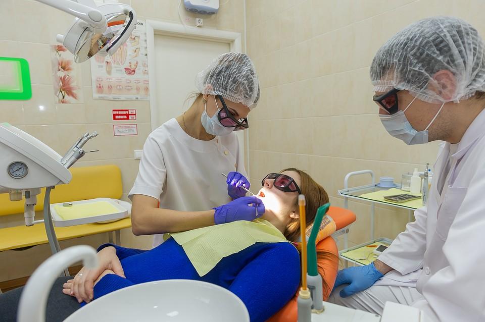 Осмотр ортодонтов
