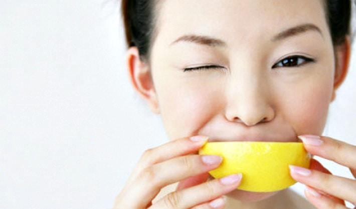 Очищение эмали лимонными кислотами