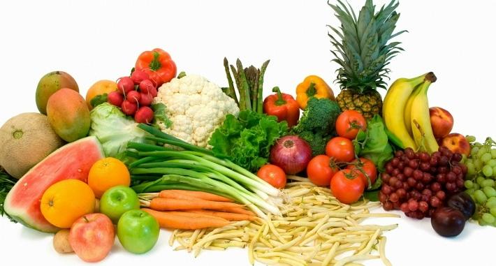 Употребление в пищу твердых овощей и фруктов