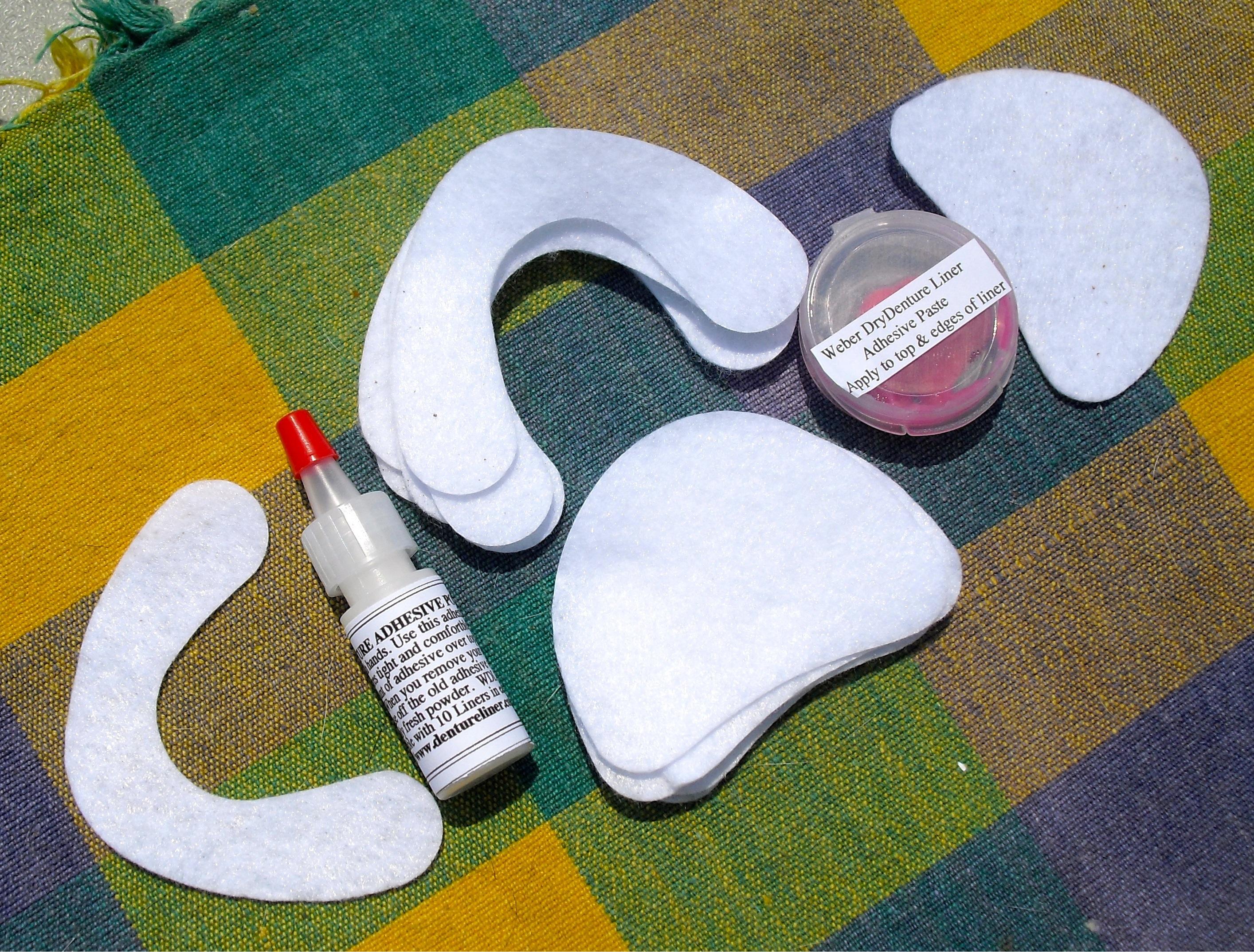 Прокладки под зубные протезы