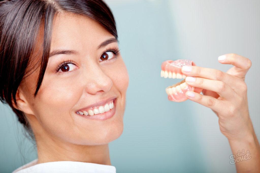 Что делать если зубной протез натирает десну