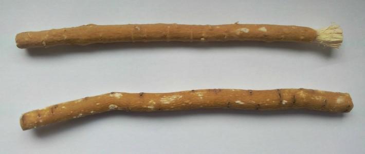 Зубная щетка в древности