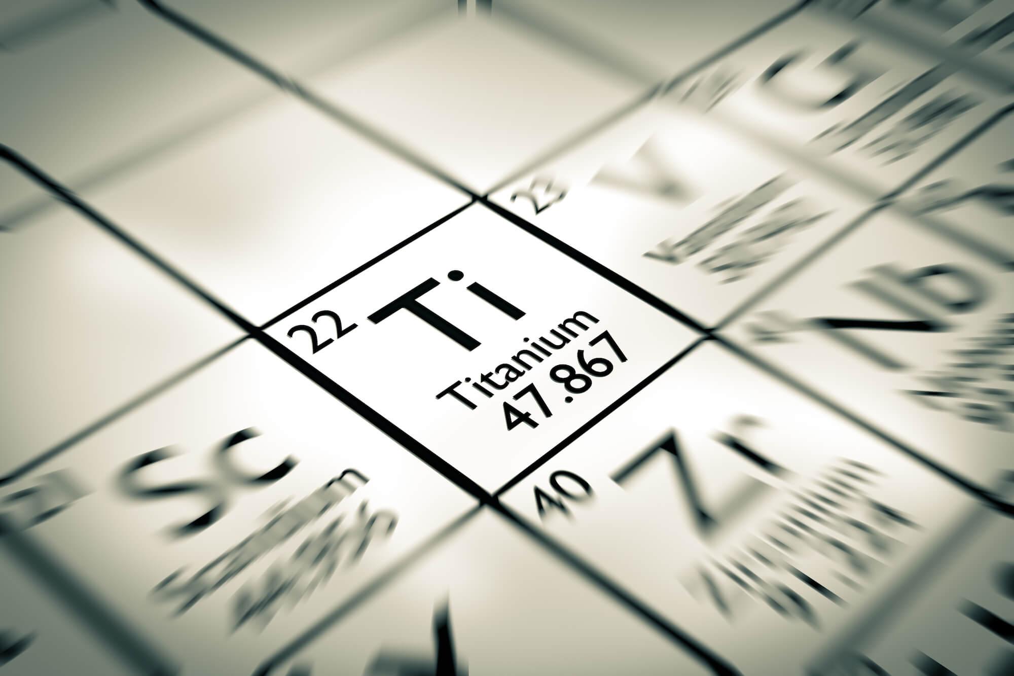 Титан в таблице