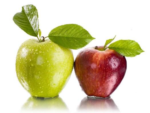 Яблоки вреднее газированной воды для зубов