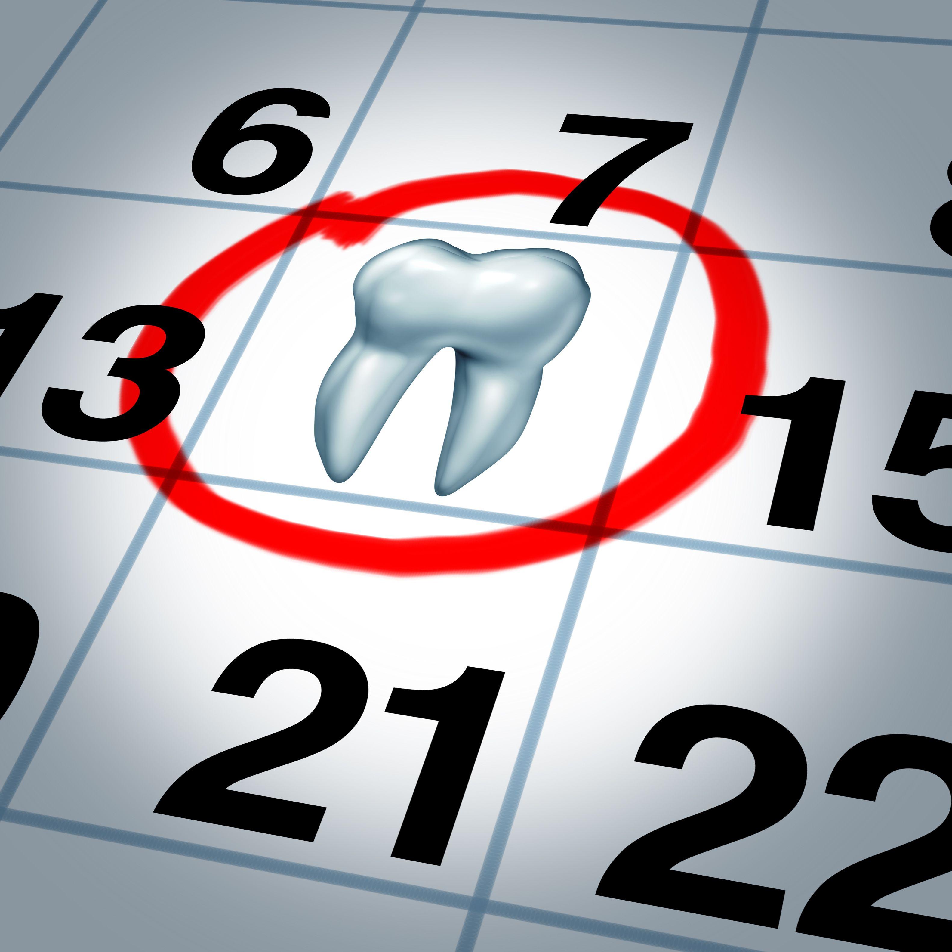 Зуб на календаре