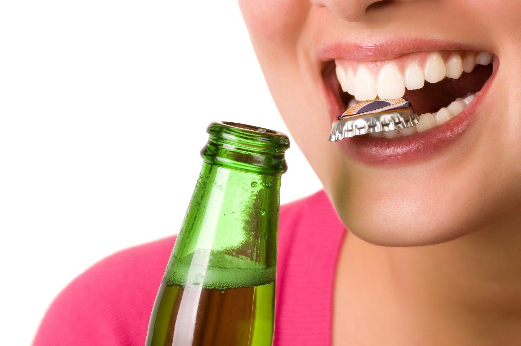 Зубы - открывашка